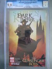 Dark Tower The Gunslinger Born #1 Book Market Variant CGC 9.9 WP 1st app Roland