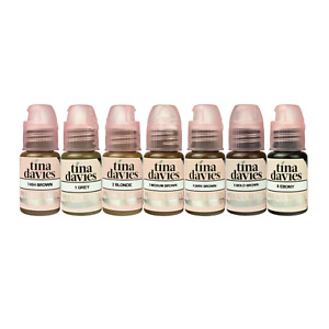 PERMA BLEND Tina Davies X Permanent Makeup Microblading Permablend Pigment Ink