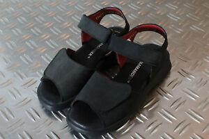 SALAMANDER Mädchen Sandalen Sommerschuhe Klettverschluss Leder schwarz Gr. 31 M