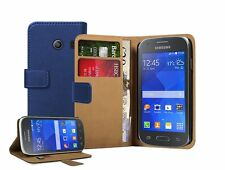 Wallet Leather Flip Case Cover Pouch For Samsung Galaxy Ace Style SM-G310HN