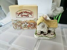 David Winter Cottages The Village Shop House Figurine w/ Box