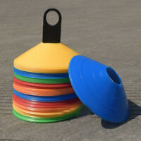 19cm Cones Marker Discs Soccer Football Training Sports Entertainment 10pcs NPZ
