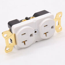 Hi-End Copper Gold plated AC 20A Power Receptacle Wall Outlet Power Distributor