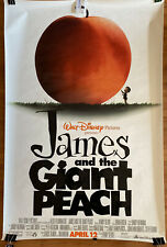 Oversized Original James And The Giant Peach movie theatre one-sheet (one-sided)