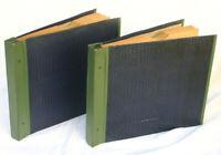 "2 ORIG. PLATTENALBEN  stabil ""ident. Serie""  á 10 Schellackplatten  25cm  AL112"