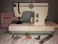 JANOME COMBI SEWING MACHINE AND OVERLOCKER HEAVY DUTY WELL SOUGHT AFTER MACHINE