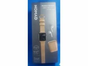 Nomad Modern Bundle Leather Watch Strap for Apple Watch 38/40mm AirPods Case