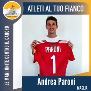 Paroni Virtus Entella maglia preparata Serie B 2019 2020 no match worn shirt