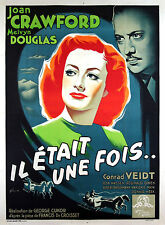 A WOMAN'S FACE - ORIGINAL FRENCH  POSTER - VERY RARE