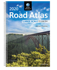 Rand McNally 2020 Large Scale Road Atlas Spiral-bound