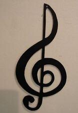 TrebleClef --Black Musical Note Music Metal Wall Art Decor