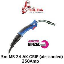 Genuine Binzel MB 24 AK Grip 5m Mig Gun/Torch (Air Cooled)