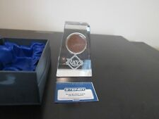 Tampa Bay Rays Crystal with Game Used Dirt - Steiner COA