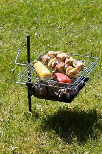 REBEL Charcoal Grill, Bikers, Hikers, Portable Campfire Cooking Fishing, Camping