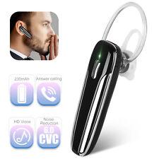 Wireless Bluetooth 5.0 Noise Cancelling Headset Earpiece Driving Trucker Earbuds