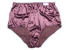 Vintage Cacique Second Skin Satin Bikini Panty Size XXL