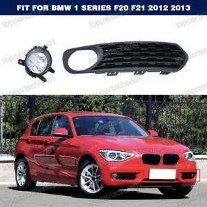 Right Clear Driving Fog Lamp Light w/Bezel For BMW 1 Series F20 F21 2012 2013