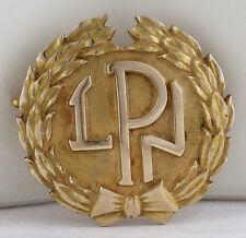 Vintage 10K Yellow Gold LPN Licensed Practical Nurse Service Pin 4.24 Grams