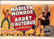 "CP affiche du film "" ARRÊT D'AUTOBUS "" BUS STOP Marilyn MONROE Don MURRAY"