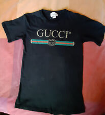 Gucci T Shirt Unisex Small with defects