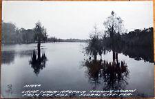 1949 Realphoto Postcard: Lake Tsala-Apopka - Floral City, Florida FL
