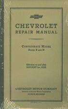 1932 Chevrolet Passenger Car/Truck Shop Manual
