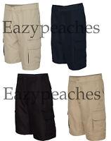 Burnside Microfiber Shorts Golf Hike Sport, Cargo Pocket, Mens Sizes 30-40 b9803