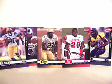 Complete Set 2007 Sage Aspire Football 34 Rookie Cards FREE SHIP Adrian Peterson