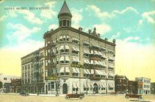 Milwauke,WI. The Globe Hotel, Cass & Wisconsin