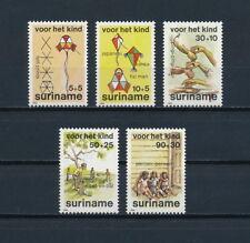 Suriname   B318-22 MNH, Children's Games, 1984