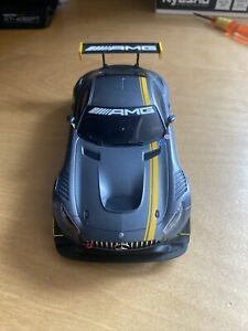 Mini-z MR-03W Chassis And Mercedes AMG GT3 Body, Upgraded Parts. Kyosho