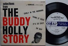 BUDDY HOLLY Selections From Buddy Holly Story EP Orig AUSTRALIA 60s VG+/EX Rare!