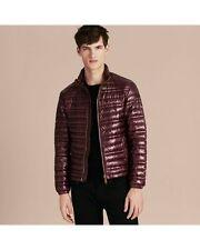 New $795 Burberry London Torford Dark Elderberry Goose Down Puffer Jacket Men2XL