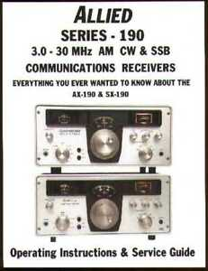 Radio Shack AX-190 Performance Restoration Manual. SX-190 + More!