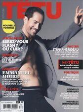 Tetu Magazine #170 9/2011 gay men JASON MORGAN CORY BOND EMMANUEL MOIRE