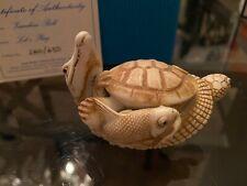 Adam Binder Pre Harmony Kingdom Artist Zambezi Roll Alligator Fish Turtle