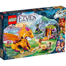 LEGO 41175 ELVES - FIRE DRAGON'S LAVA CAVE * NEW * IN SEALED BOX * ELVES DRAGONs