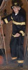 Pottery Barn Teen Firefighter Halloween Costium Jacket Pants Helmet size 9-10