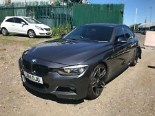 2014 BMW 330D M SPORT 3.0 DIESEL AUTO IN GREY SALVAGE DAMAGED REPAIRABLE