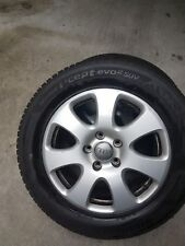 set 4 Cerchi in lega originali AUDI da 18 con pneumatici Hankook 255 55 18