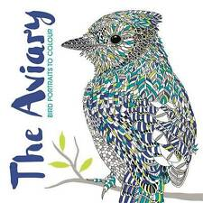 The Aviary (Colouring Books), Merritt, Richard, Scully, Claire, New