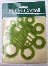 Radius and Nut template stencil - Fabre-Castell, Germany