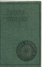 Portable Conveyors 1920 catalog- Agriculture Equipment