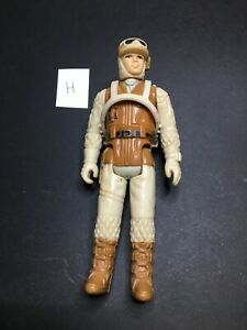 Vintage 1980 Kenner Star Wars Rebel Soldier Hoth Battle Gear (H) with Pack ESB