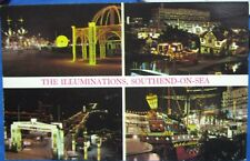 England The Illuminations Southend-on-sea - posted 1972