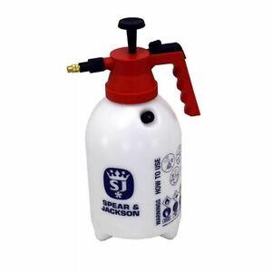 Spear & Jackson 2 Litre Hand Pump Action Water Pressure Spray/Sprayer,2LPAPS 2L