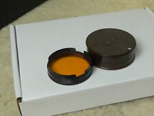 OMAG 36mm Orange Vintage Push Fit filter Switzerland Filter Film