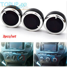 3PC FIT FOR TOYOTA bB SCION xB 03-07 SWITCH KNOB HEATER BUTTONS DIALS A/C COVER