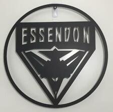 AFL Essendon Bombers Metal Wall Art Plaque Sign Aussie Australian Football 500mm