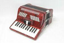 More details for stephanellie piano accordion 26 treble keys 48 bass keys - s97